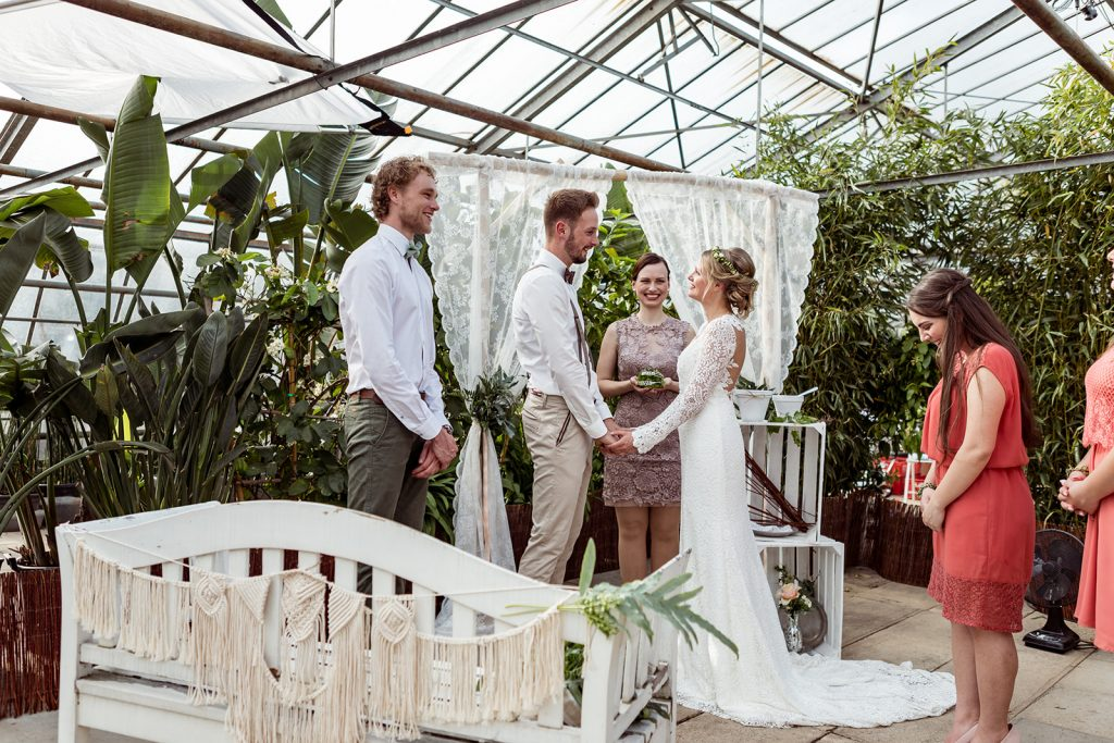 Boho-Hochzeit im Frühling