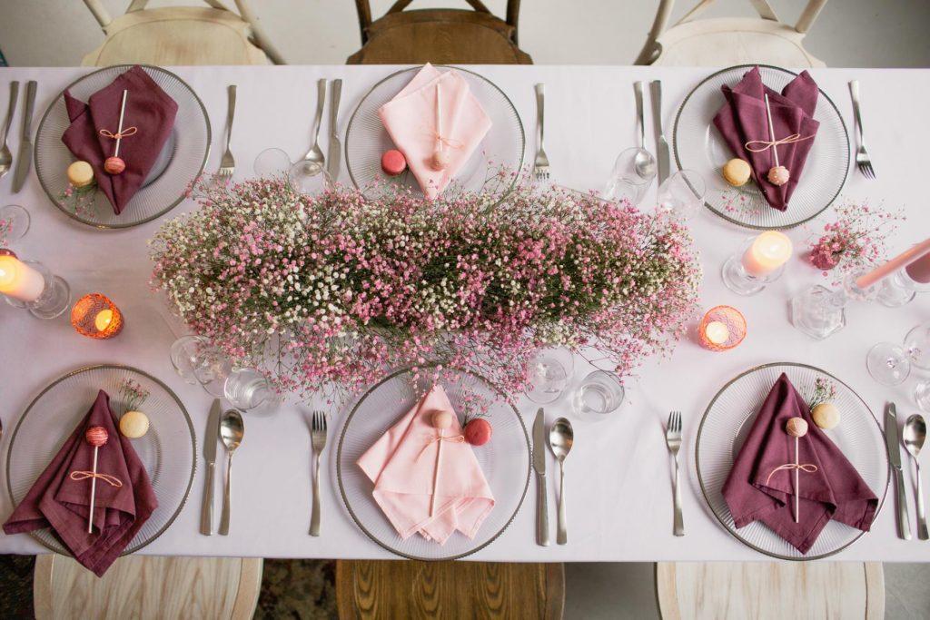Deko-Konzept Tiny Wedding II: Verschleierter Frühling