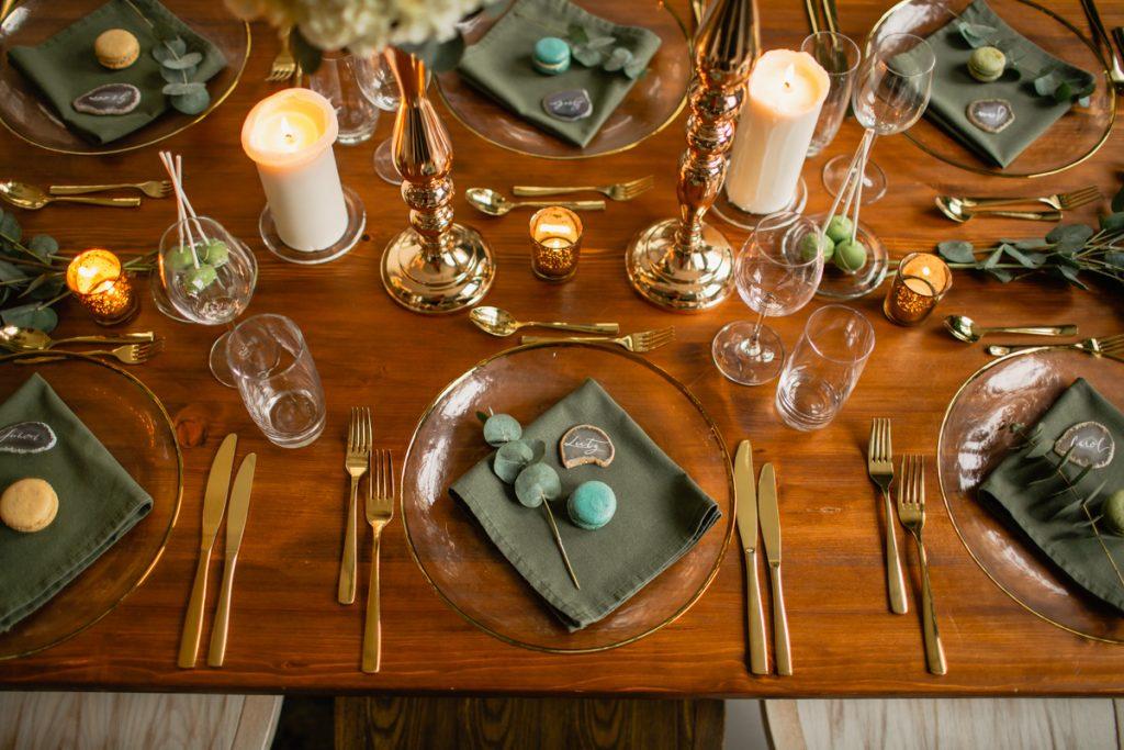 Deko-Konzept Tiny Wedding III: Greenery Inspiration